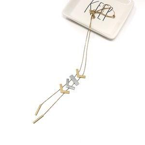 Madewell Arrowdrop Bolo Necklace
